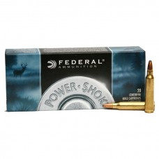 Патроны FEDERAL (.223 Rem) POWER-SHOK (SP)(55grs)(3,56г.)