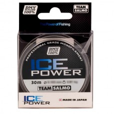 Леска TEAM SALMO ICE POWER (30м)(0,17мм)(3,24кГ)