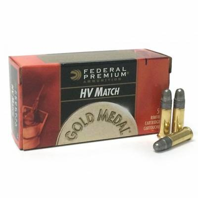 Патроны FEDERAL GM (.22 l.r.) MATCH HV (Solid)(40grs)(2,59г.)